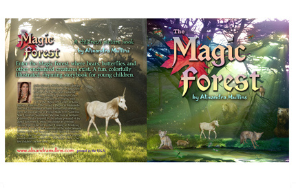 Cover Art for the Magic Forest Children